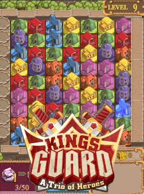 Kings Guard - A Trio of Heroes